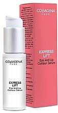 Profumi e cosmetici Siero per occhi e labbra - Collagena Code Express Lift Eye And Lip