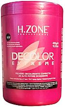 Profumi e cosmetici Polvere decolorante per capelli - H.Zone Decolor Extreme