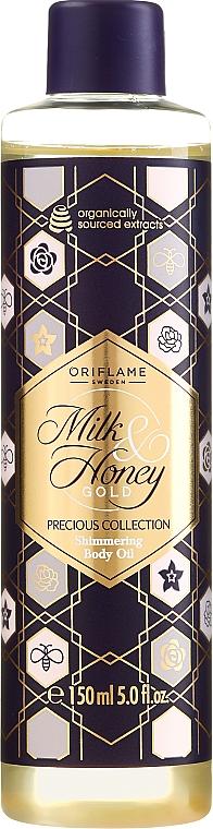 """Olio corpo brillante """"Latte e Miele"""" - Oriflame Milk & Honey Gold Shimmering Body Oil — foto N1"""