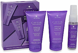 Profumi e cosmetici Set - Alterna Caviar Anti-Aging Multiplying Volume (shm/40ml + cond/40ml + mist/25ml)