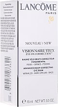 Crema contorno occhi - Lancome Visionnaire Yeux Eye On Correction — foto N1