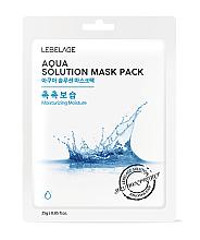 Profumi e cosmetici Maschera viso in tessuto - Lebelage Aqua Solution Mask
