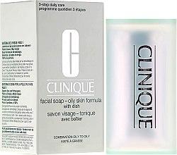 Profumi e cosmetici Sapone per la pelle grassa - Clinique Facial Soap with Dish Oily