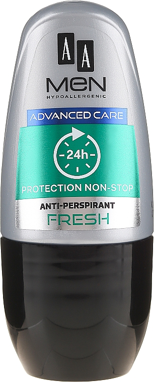 Deodorante roll-on - AA Men Advance Care Protection Non-Stop 24h Anti-Perspirant Fresh — foto N1