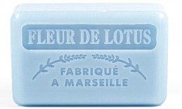 """Profumi e cosmetici Sapone di Marsiglia """"Fiore di loto"""" - Foufour Savonnette Marseillaise Fleur De Lotus"""