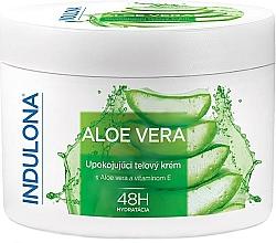 Profumi e cosmetici Crema corpo lenitiva all'aloe vera - Indulona Aloe Vera Soothing Body Cream