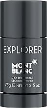 Profumi e cosmetici Montblanc Explorer - Deodorante stick
