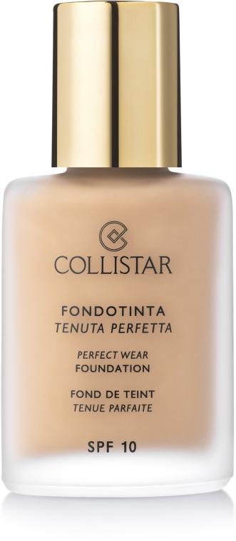 Fondotinta crema - Collistar Perfect Wear Foundation SPF 10