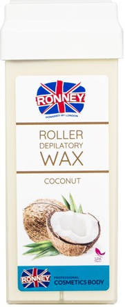 "Cartuccia cera depilatoria ""Cocco"" - Ronney Wax Cartridge Coconut"