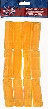 Profumi e cosmetici Bigodino 20/65 mm, giallo - Ronney Hollow Magntic Rollers