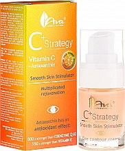 Profumi e cosmetici Crema contorno occhi con vitamina C. - Ava Laboratorium C+ Strategy Smooth Skin Stimulator Eye Contour Cream