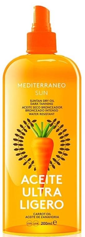 Olio secco solare - Mediterraneo Sun Carrot Suntan Dry Oil — foto N1