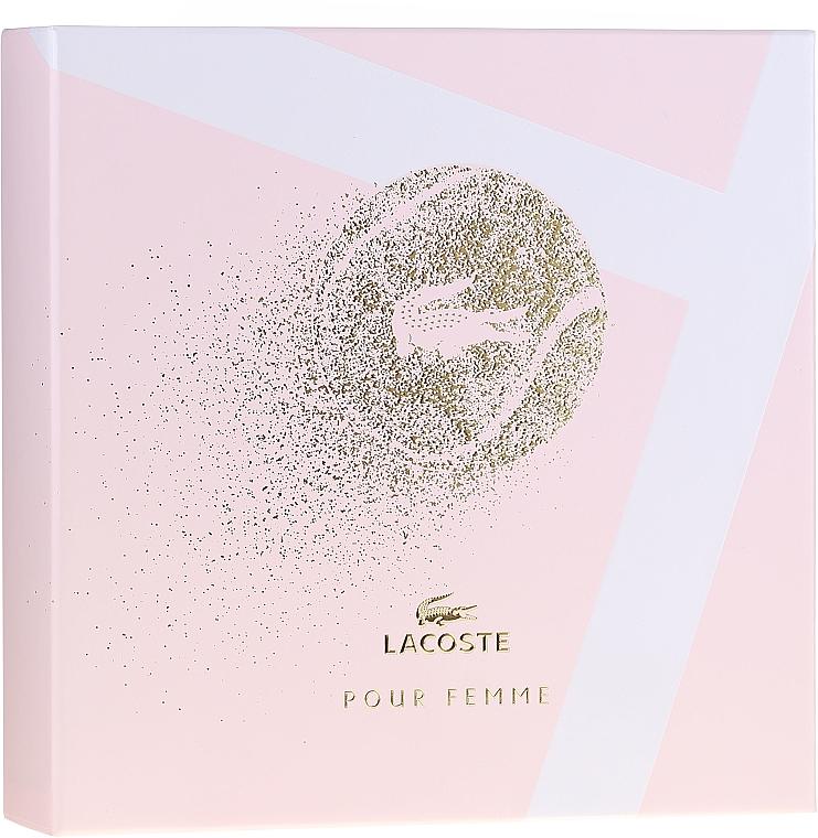 Lacoste Pour Femme - Set (edp/50/ml + b/lot/100/ml) — foto N1