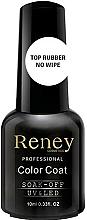 Profumi e cosmetici Top Coat per smalto gel - Reney Cosmetics Top Rubber No Wipe