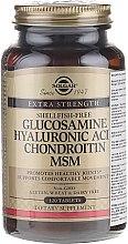 Profumi e cosmetici Integratore alimentare - Solgar Glucosamine Hyaluronic Acid Chondroitin MSM