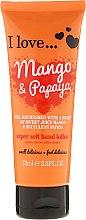 Profumi e cosmetici Lozione delicata mani al mango e papaia - I Love... Mango & Papaya Super Soft Hand Lotion