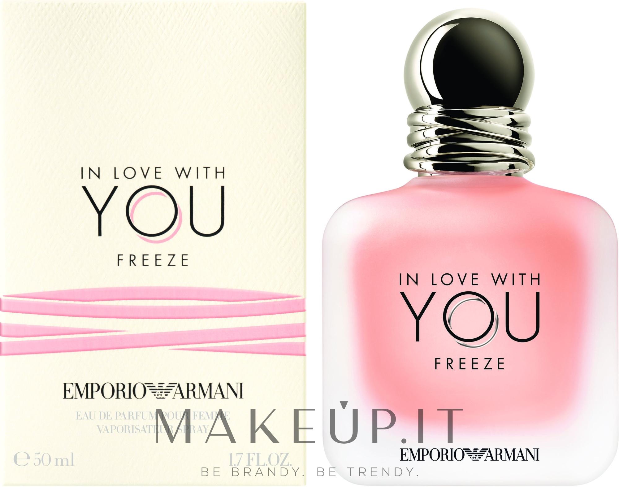 Giorgio Armani Emporio Armani In Love With You Freeze - Eau de parfum — foto 50 ml