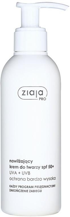 Crema idratante viso - Ziaja Pro Final Care SPF 50+ — foto N1