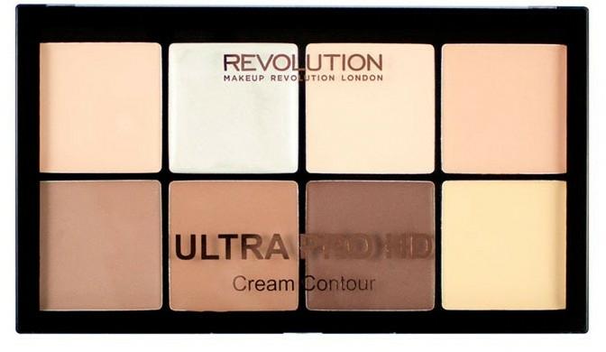 Palette contouring viso - Makeup Revolution HD Pro Cream Contour