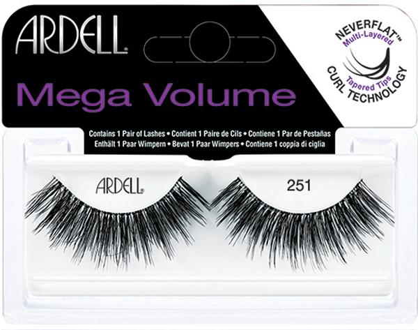 Ciglia finte - Ardell Eyelashes Mega Volume 251 — foto N1