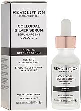 Profumi e cosmetici Siero viso - Revolution Skincare Colloidal Silver Serum