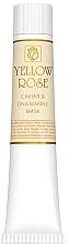 Profumi e cosmetici Maschera viso caviale e DNA marino (tubo) - Yellow Rose Caviar & Marine DNA Face Mask