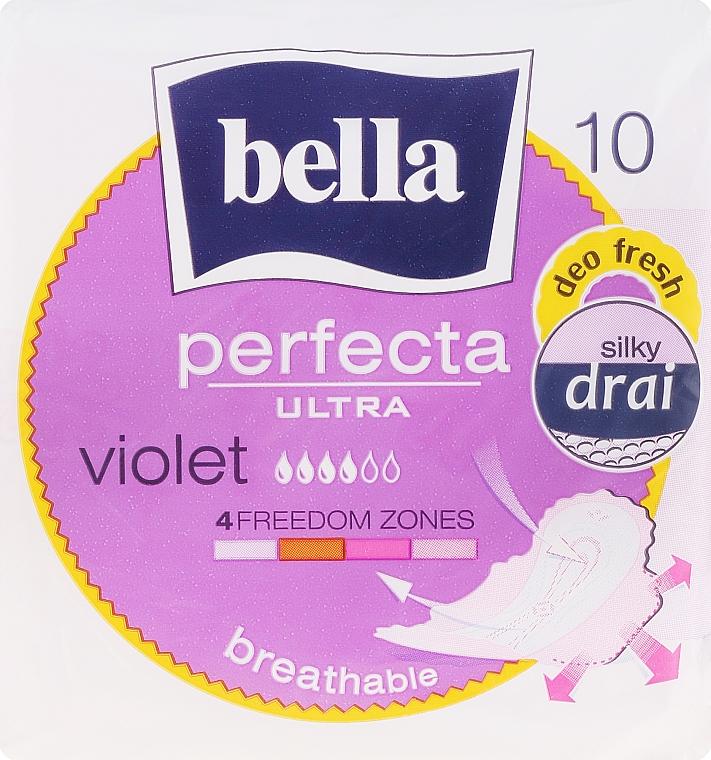 Assorbenti Perfecta Violet Deo Fresh Soft Ultra, 10pz - Bella