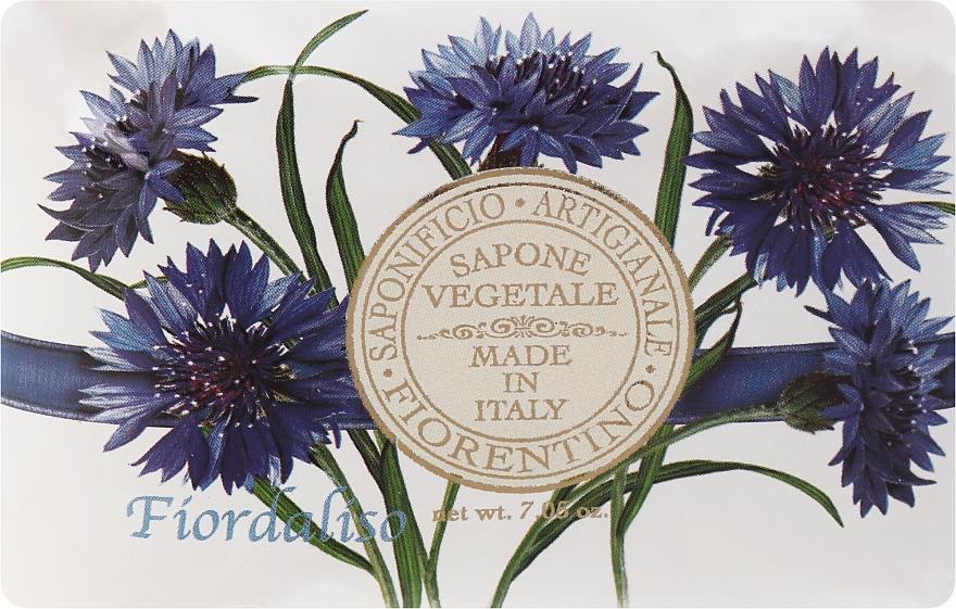 """Sapone Artigianale """"Fiordaliso"""" - Saponificio Artigianale Fiorentino Cornflower — foto N1"""