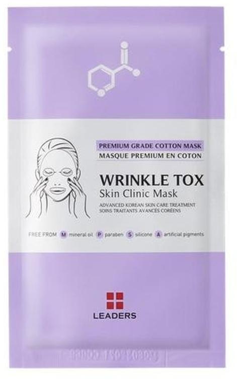 Maschera rassodante - Leaders Wrinkle Tox Skin Clinic Mask — foto N1