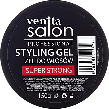 Profumi e cosmetici Gel per capelli - Venita Salon Professional Styling Gel Super & Mega Strong