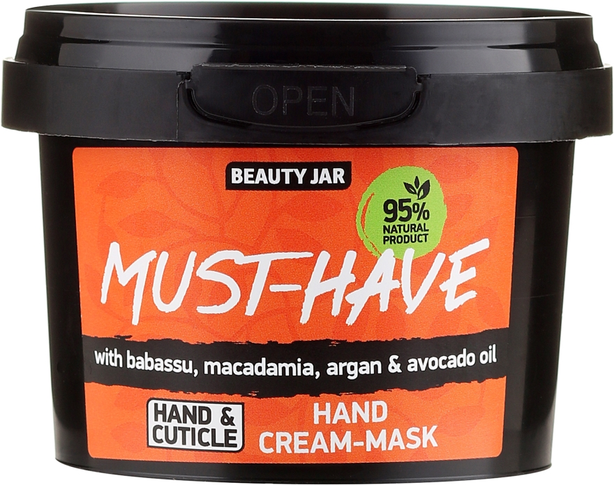 Maschera crema mani - Beauty Jar Must-Have Hand Cream-Mask