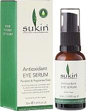 Profumi e cosmetici Siero contorno occhii - Sukin Antioxidant Eye Serum