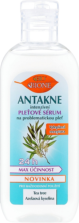 Siero per il viso - Bione Cosmetics Antakne Tea Tree and Azelaic Acid Facial Serum