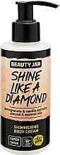 """Profumi e cosmetici Crema corpo con glitter """"Shine Like A Diamond"""" - Beauty Jar Shimmering Body Cream"""