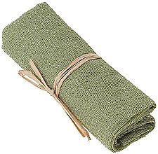 Profumi e cosmetici Asciugamano esfoliante in nylon, verde - The Body Shop Body Polisher