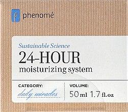 Profumi e cosmetici Crema viso idratante 24 ore - Phenome 24 Hour Moisturizing System Cream