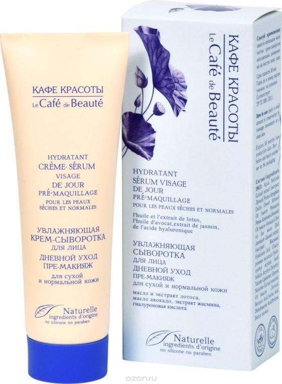 Siero-base trucco idratante per pelli secche e normali - Le Cafe de Beaute Cream Serum Visage
