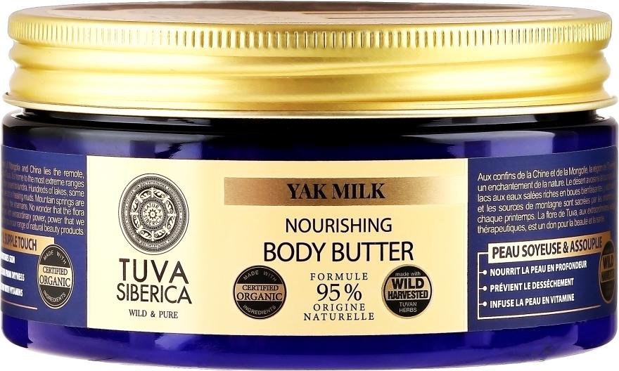 Burro corpo nutriente - Natura Siberica Tuva Siberica Yak Milk Nourishing Body Butter