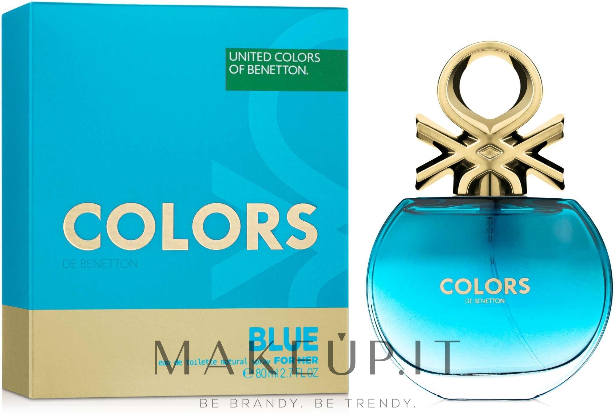 Benetton Colors de Benetton Blue - Eau de toilette  — foto 80 ml