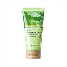 Profumi e cosmetici Schiuma idratante all'aloe vera - The Saem Jeju Fresh Aloe Cleansing Foam