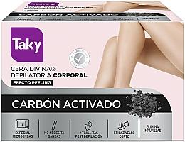 Profumi e cosmetici Cera depilatoria con carbone attivo - Taky Activated Carbon Body Depilatory Wax