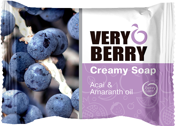 Sapone-crema - Very Berry Acai & Amaranth Oil