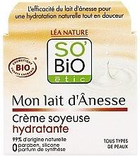 Profumi e cosmetici Crema idratante al latte d'asina - So'Bio Etic Mon Lait d'Anesse Silky Moisturizing Cream