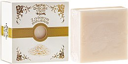 """Profumi e cosmetici Sapone nella scatola """"Latte di riso"""" - Delicate Organic Aroma Soap"""