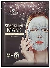 Profumi e cosmetici Maschera detergente in tessuto con carbone attivo - Shangpree Sparkling Mask