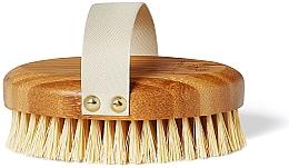 Profumi e cosmetici Spazzola in bambù da massaggio - Crystallove Bamboo Agave Body Brush