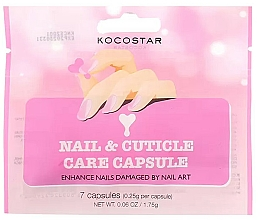 Profumi e cosmetici Siero unghie e cuticole - Kocostar Nail & Cuticle Care Capsule