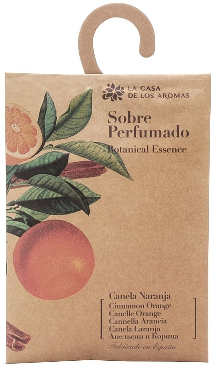 """Bustina aromatica """"Arancia e cannella"""" - La Casa de Los Botanical Essence Cinnamon Orange"""