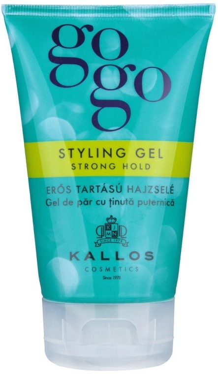 Gel per capelli - Kallos Cosmetics Gogo Styling Gel Strong Hold