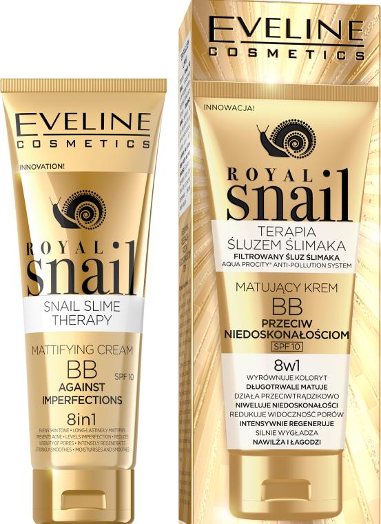 BB Creama opacizzante - Eveline Cosmetics Royal Snail BB Cream 8in1
